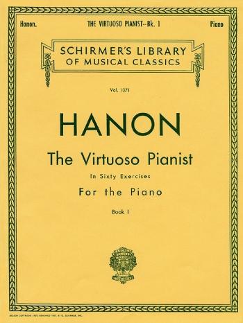 Virtuoso Pianist In 60 Exercises: Book 1  Piano Studies (Schirmer)