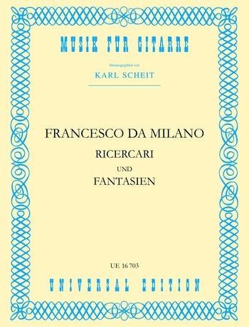 Ricerari and Fantasien: Guitar