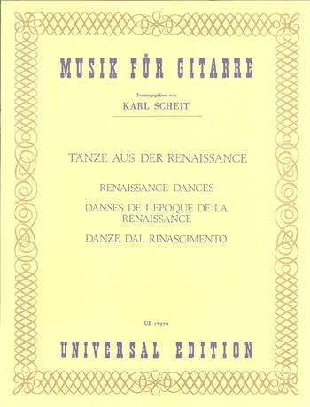 Renaissance Songs and Dances: Guitar