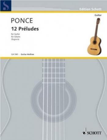 12 Preludes: Guitar