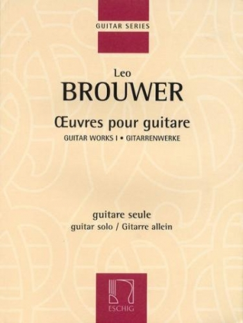 Oeuvres For Guitar: Solo Guitar (Eschig)