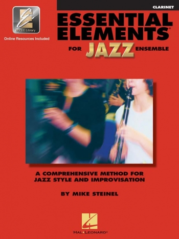 Essential Elements For Jazz Ensemble: Clarinet: Book & CD