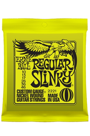 Ernie Ball Regular Slinky 10-46 Guitar Strings
