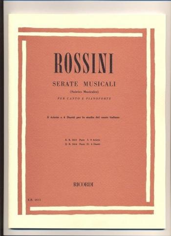 Serate Musical: 8 Arias: Vocal