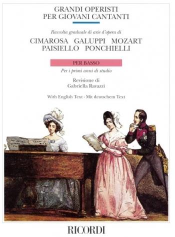 Great Opera Composers Bass: Grandi Operisti per giovani cantanti 1: Vocal and Piano