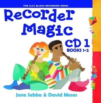 Recorder Magic Book 1&2: Cd Only (sebba)
