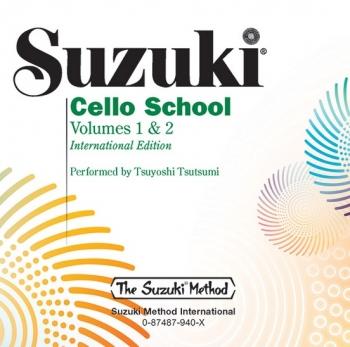 Suzuki Cello School: Part 1 and 2: Cd Only