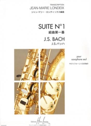 Suite No1: Alto Sax Solo (Lemoine)