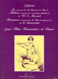 3 Pieces: Flute And Piano (Lemoine)