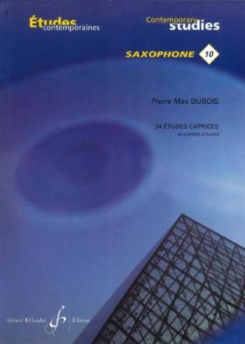 24 Etudes Caprices: 1: Saxophone Solo