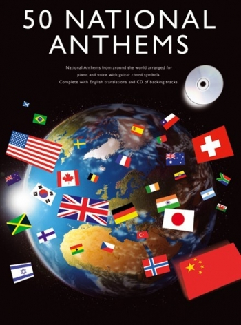 50 National Anthems: Piano Vocal Album