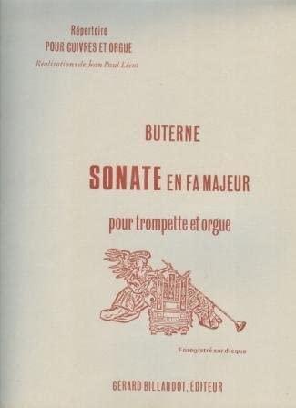 Sonata In F: Organ