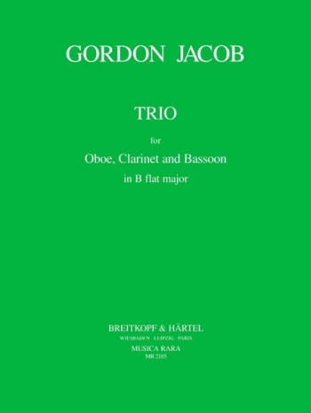 Trio: Oboe Clar and Bassoon: