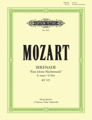 Mozart: Eine Kleine Nachtmusik: String Quartet: Score and Parts