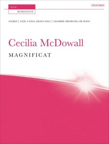 Mcdowall: Magnificat:  Satb and Piano: New Horizons: Vocal Score