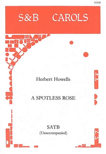 A Spotless Rose: Vocal SATB