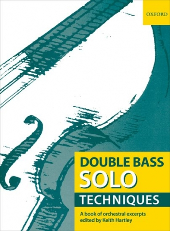 Double Bass Solo  Techniques: Orchestral Excerpts