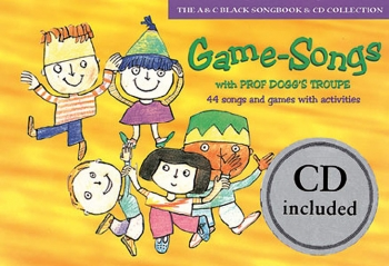 Game Songs With Prof Doggs Troupe: Activity Book & CD  (A & C Black)
