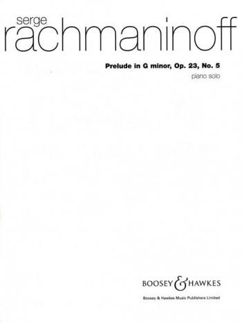 Prelude: G Minor Op.23 No.5: Piano (B&H Ed)