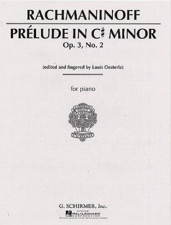 Prelude In C# Minor Op3 No2: Piano (Schirmer)