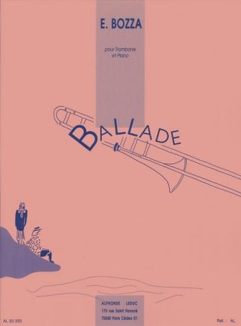 Ballade: Trombone & Piano (Leduc)