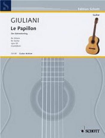 Le Papillon: Op50: 32 Easy Guitar Pieces