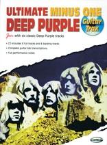 Ultimate Minus One: Deep Purple: Guitar Tab: Book And Cd