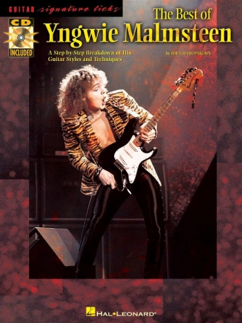 Signature Licks: The Best Of Yngwie Malmsteen: Guitar Tab: Bk&cd