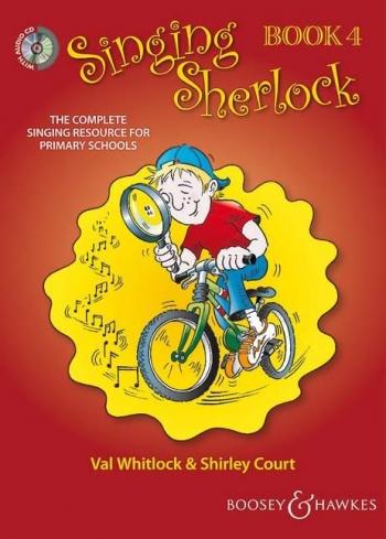 Singing Sherlock 4: Songbook: Book & Cd  (whitlock & Court)
