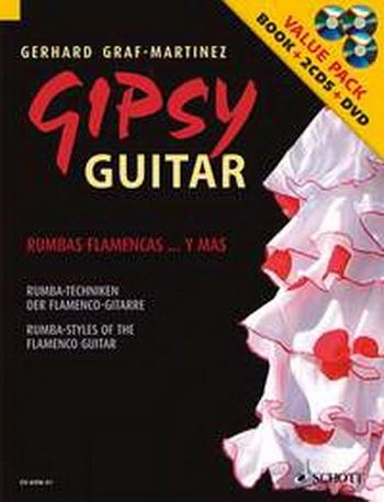 Gypsy Guitar: Rumbas Flamencas Y Mas:  Book & 2cds & Dvd (Graf: Martinez)