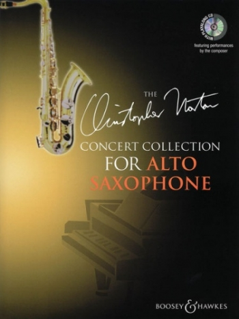 Concert Collection: Alto Saxophone: Book & Cd (Christopher Norton)