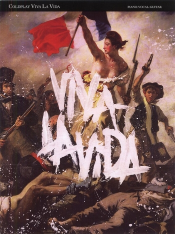Coldplay: Viva La Vida: Piano Vocal & Guitar (Single)