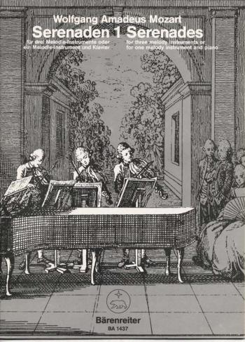 Serenades: 1: Three Melody Instruments