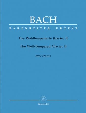 Well-Tempered Clavier Vol.2: Piano (Barenreiter)
