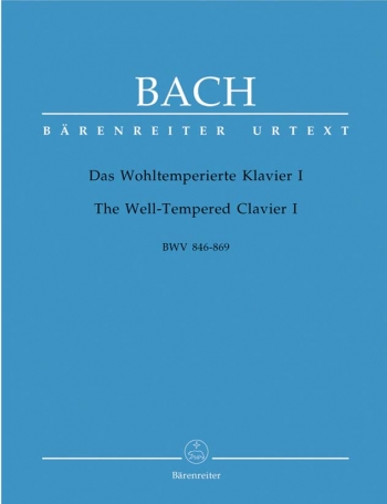 Well-Tempered Clavier Vol.1: Piano (Barenreiter)