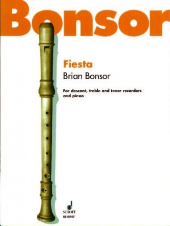 Fiesta: Recorders Descant, Treble Tenor and Piano