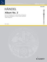 Second Album: Recorder 2-3 Recorders (SA/T) And Piano