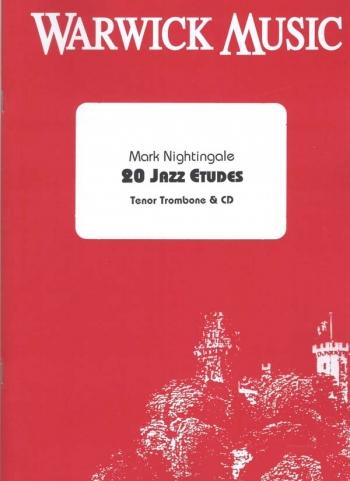 20 Jazz Etudes Trombone Bass Clef: Book & Cd (nightingale)
