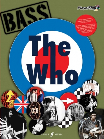 Authentic Playalong: The Who: Bass Guitar: Book & CD