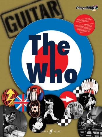Authentic Playalong: The Who: Guitar Tab Book & CD