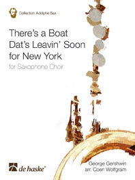 Theres A Boat Dats Leaving Soon For New York: Saxophone Choir