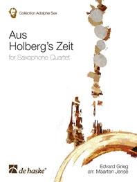 Aus Holberg Zeit : Saxophone Quartet (SATB)
