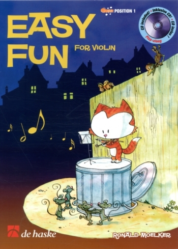 Easy Fun: Violin:  Position 1: Bk&cd