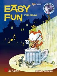 Easy Fun: Position 1: Cello: Book & CD