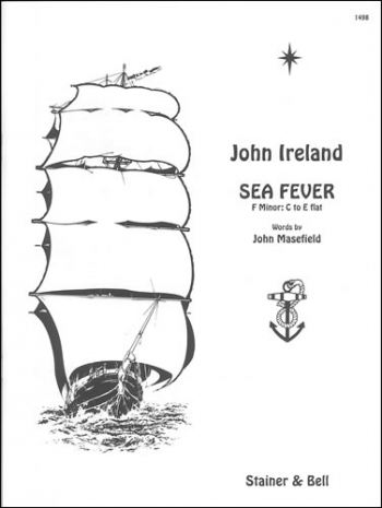Sea Fever In F Minor: Vocal: Solo