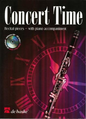 Concert Time: Recital Pieces: Clarinet: Book & CD