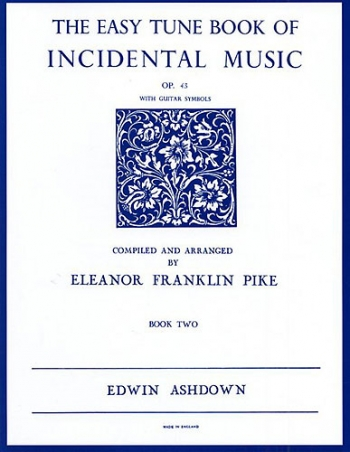 Easiest Tune Book Of Incidental Music: Book 2: Piano