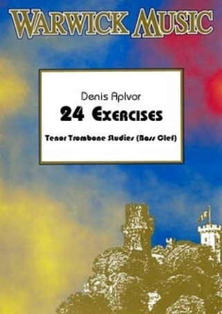 24 Exercises In C: Bass Clef: Trombone