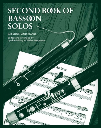 Second Book Of Bassoon Solos: Bassoon & Piano (Faber)