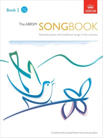 ABRSM Songbook Book 2: Vocal Exam: Book & CD